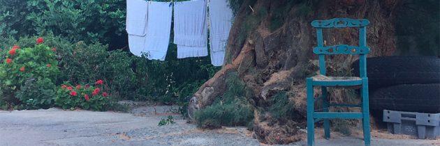 Sillas en Creta